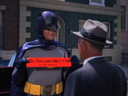 Batman - Do You Like Me Y/N