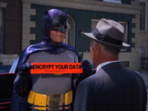 Batman - Encrypt Your Data