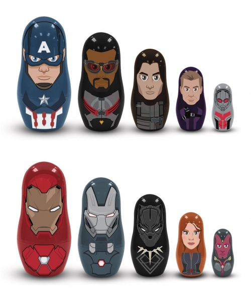 Captain America: Civil War - Nesting Dolls