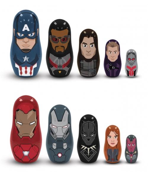 Captain America: Civil War - Nesting Dolls