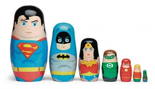 DC Comics Justice League Nesting Dolls Set
