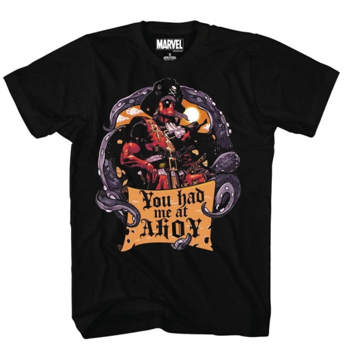Deadpool - You Had Me At Ahoy T-Shirt