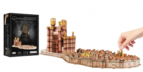 Game of Thrones - King's Landing 4D Puzzle