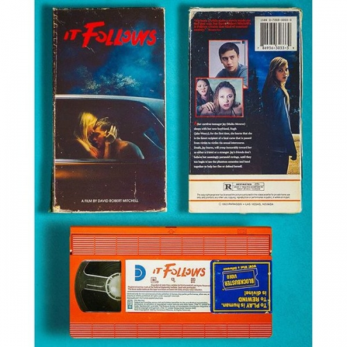 It Follows - Retro VHS Mockup