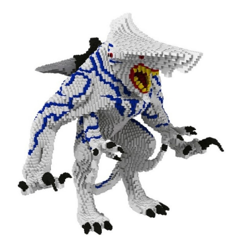 Pacific Rim's Knifehead Lego Build