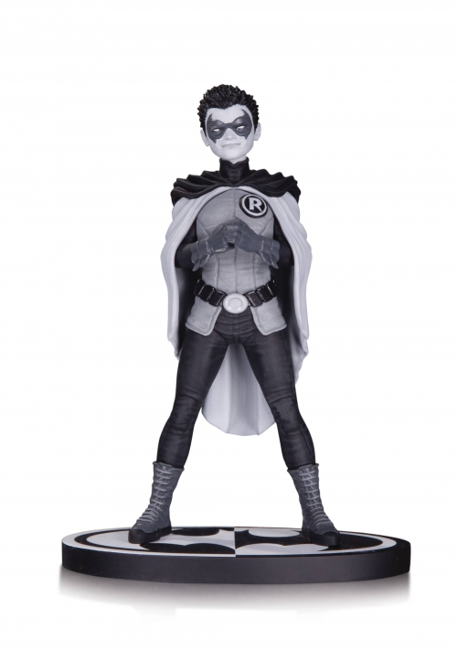 Batman: Black and White Robin Statue (Damian Wayne)