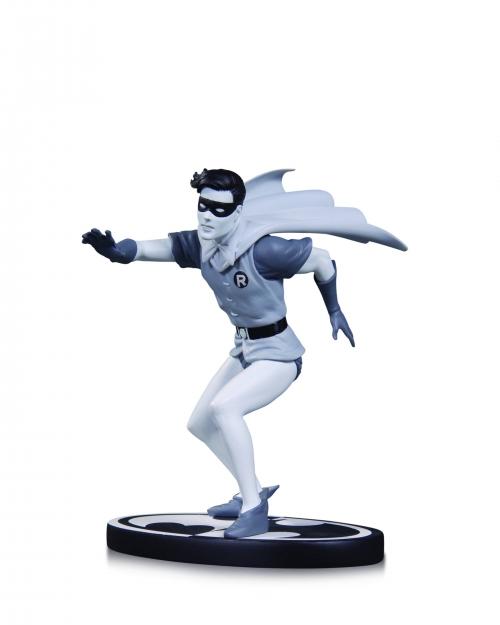 Batman: Black and White Robin Statue (Dick Grayson)