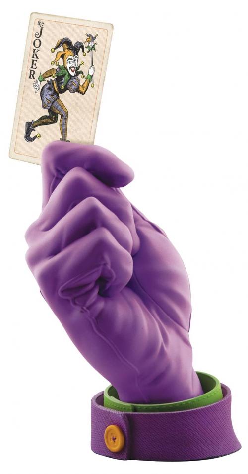 The Joker's Calling Card Resin Statue