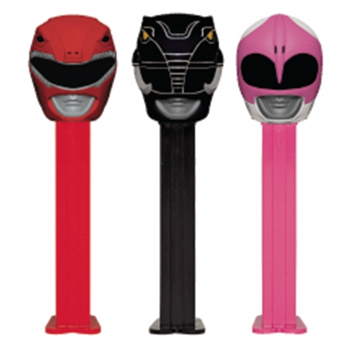 Power Rangers Pez Dispensers