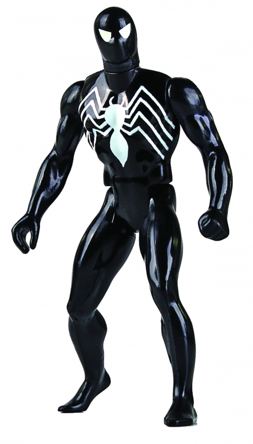 Spider-Man Symbiote Costume Action Figure