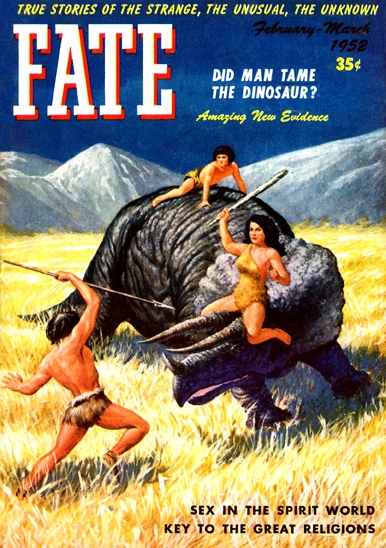 Fate Cover - March 1952