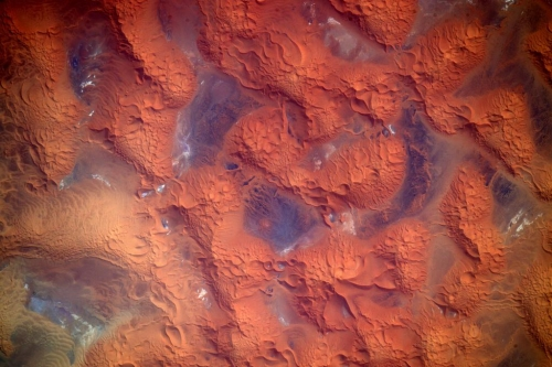 Scott Kelly - African Desert from Space