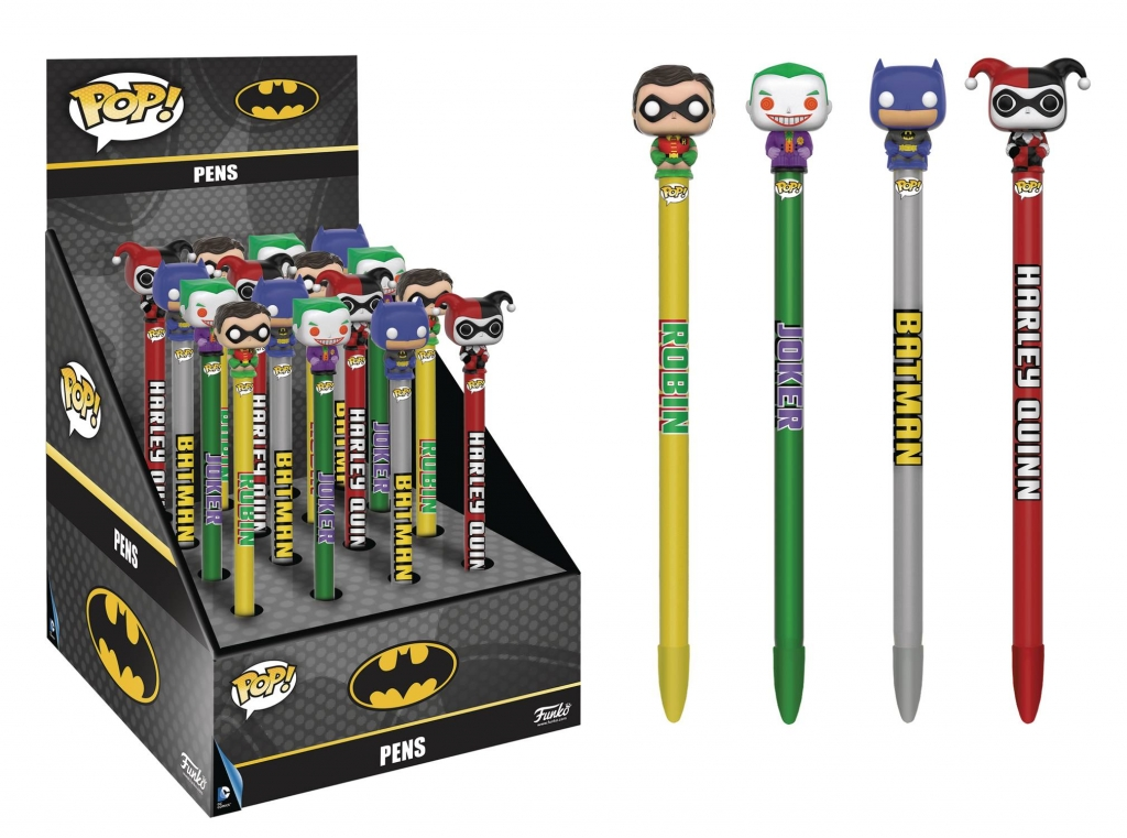 DC Comics Pen Toppers