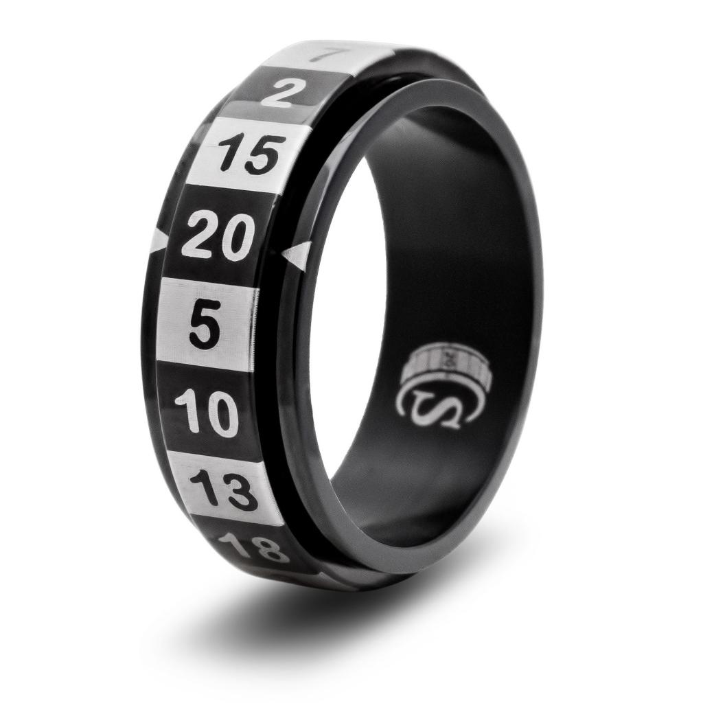 D20 Spinner Ring