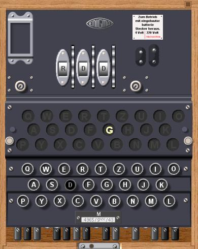 Enigma Simulator Screenshot