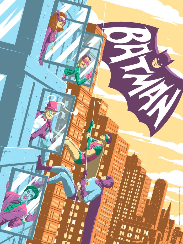 Batman Classic TV Print