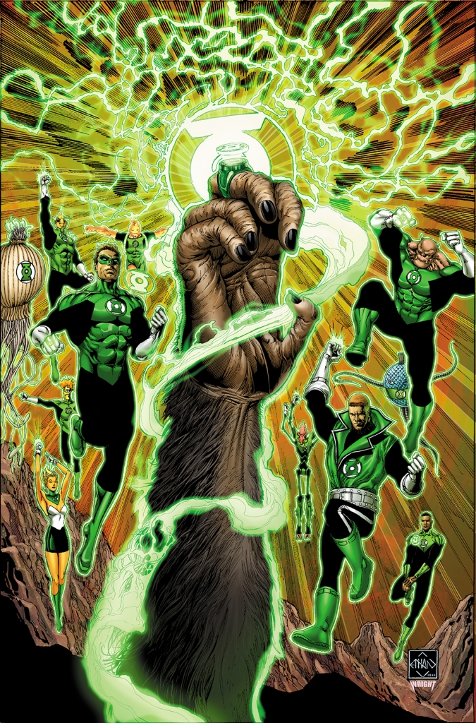 Planet of the Apes / Green Lantern Crossover Cover Image