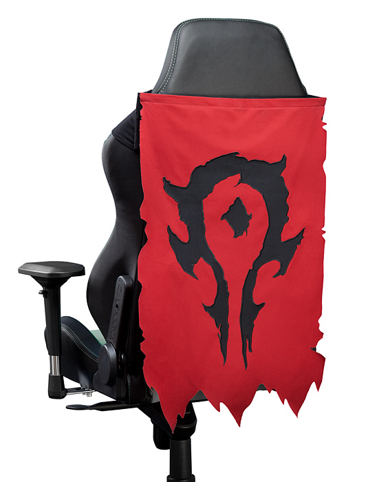 Warcraft Chair Banner - Horde