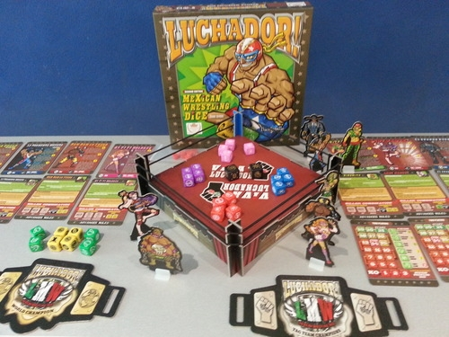 Luchador! Mexican Dice Game Contents