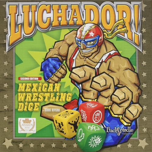 Luchador! Mexican Dice Game Box Cover