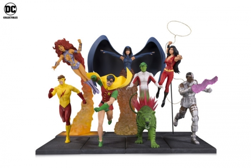 New Teen Titans Multi-Part Statue