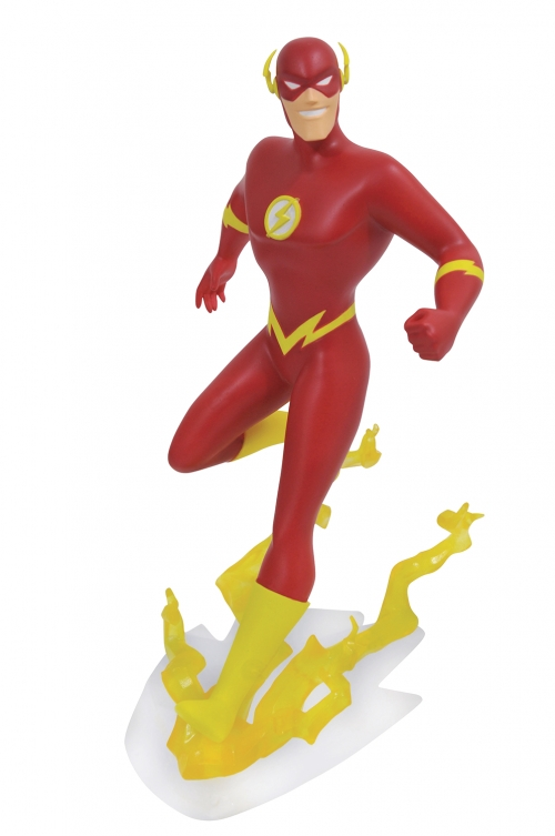 Justice League Animated - PVC Flash Statue