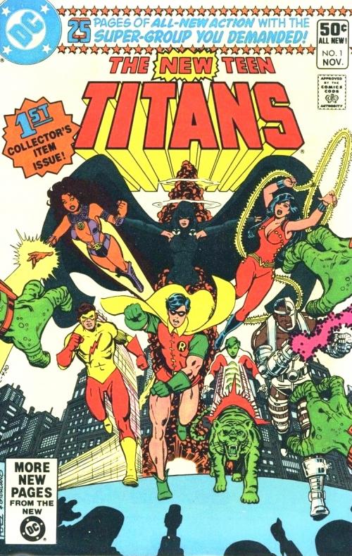 New Teen Titans No. 1 Cover