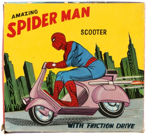 Spider-Man Scooter Box
