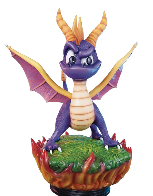 Spyro the Dragon 15-inch Statue