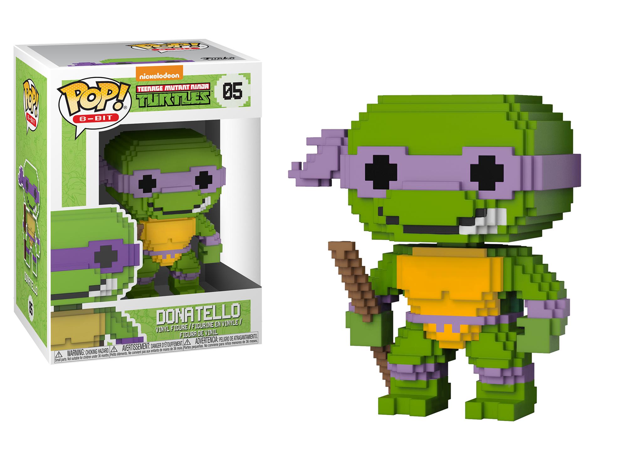 Funko Pop 8-Bit: Teenage Mutant Ninja Turtles - Donatello
