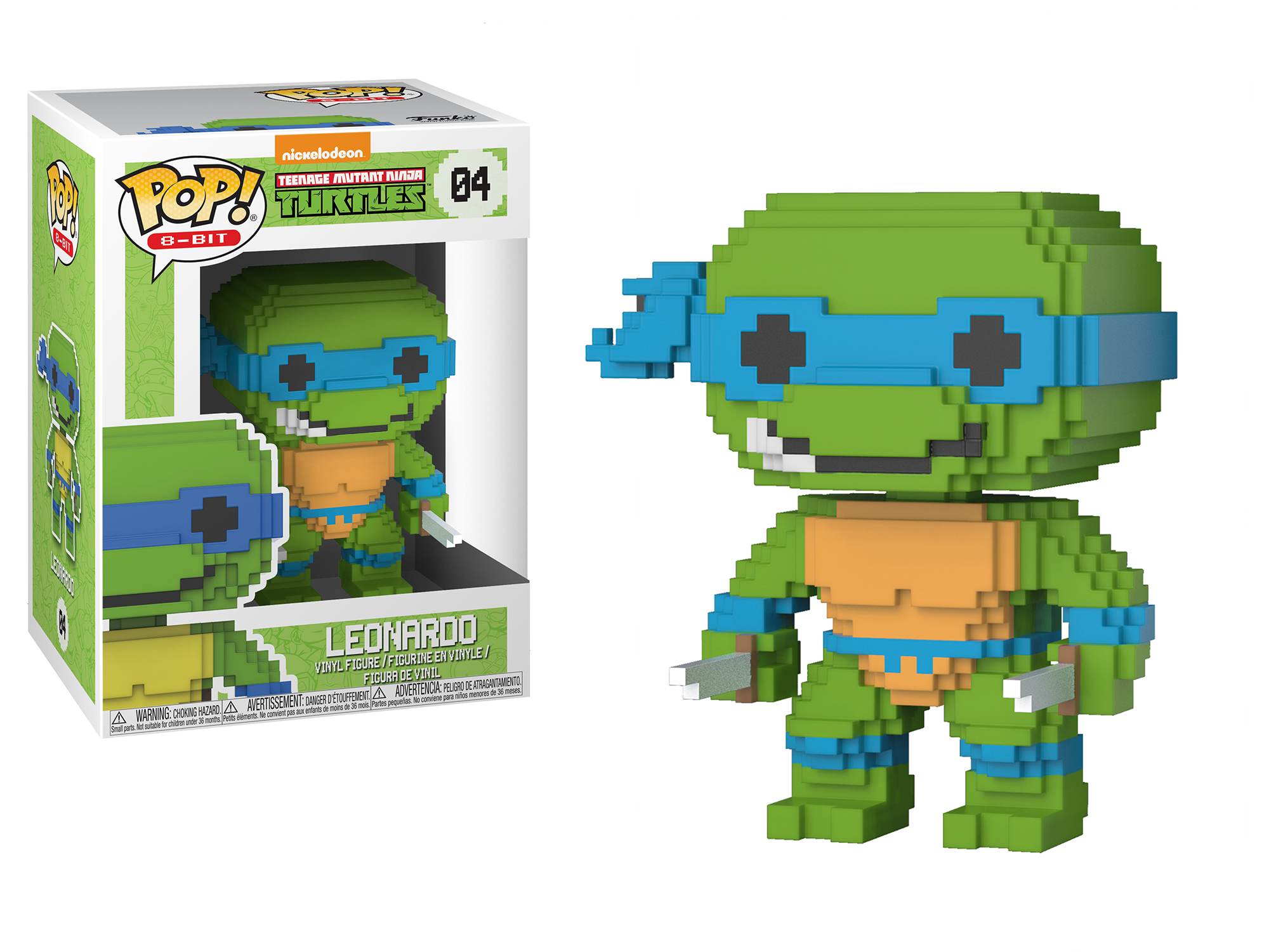Funko Pop 8-Bit: Teenage Mutant Ninja Turtles - Leonardo