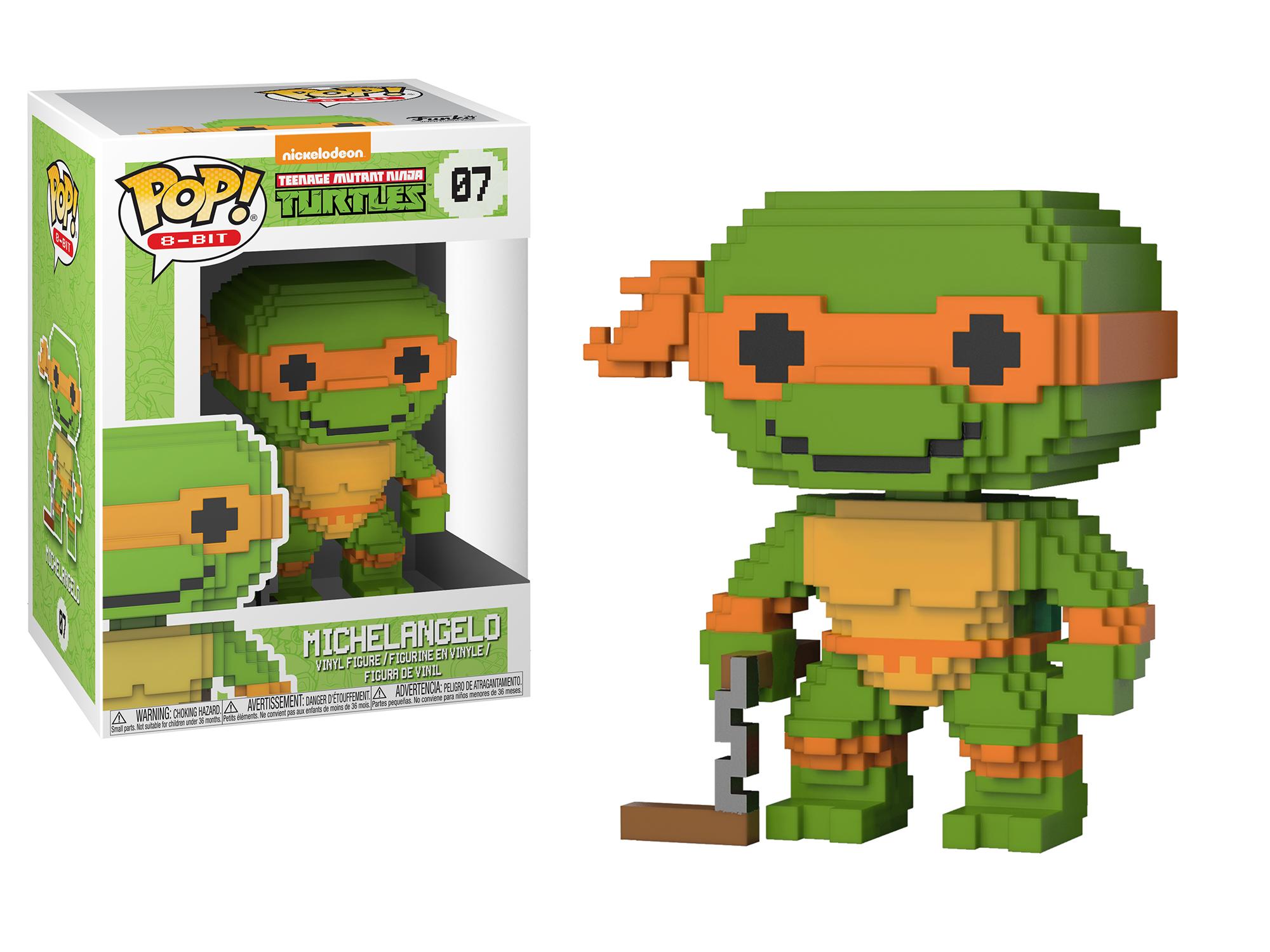 Funko Pop 8-Bit: Teenage Mutant Ninja Turtles - Michelangelo