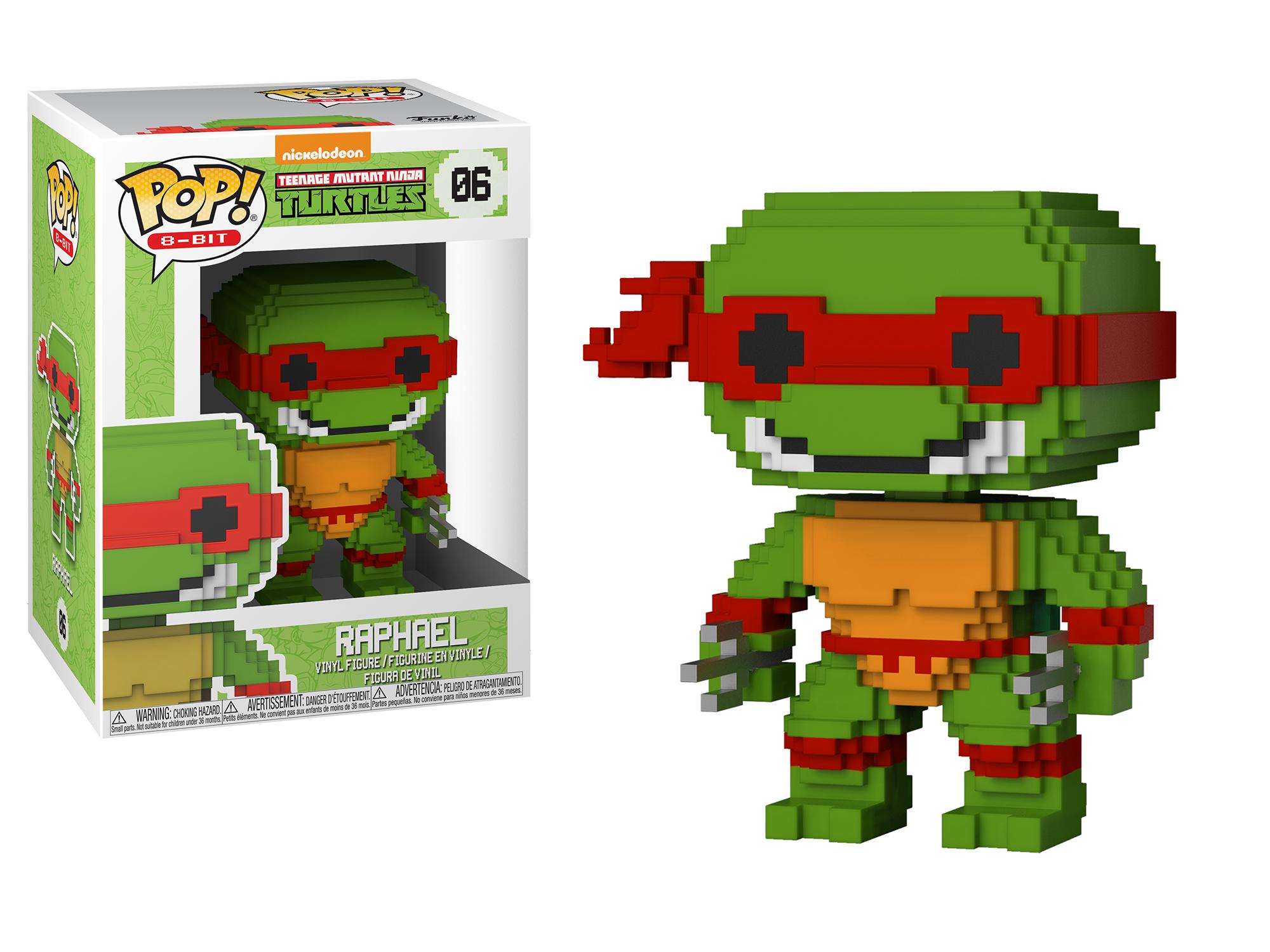 Funko Pop 8-Bit: Teenage Mutant Ninja Turtles - Raphael