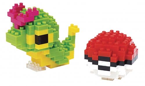 Nanoblocks Pokemon - Caterpie and Pokeball