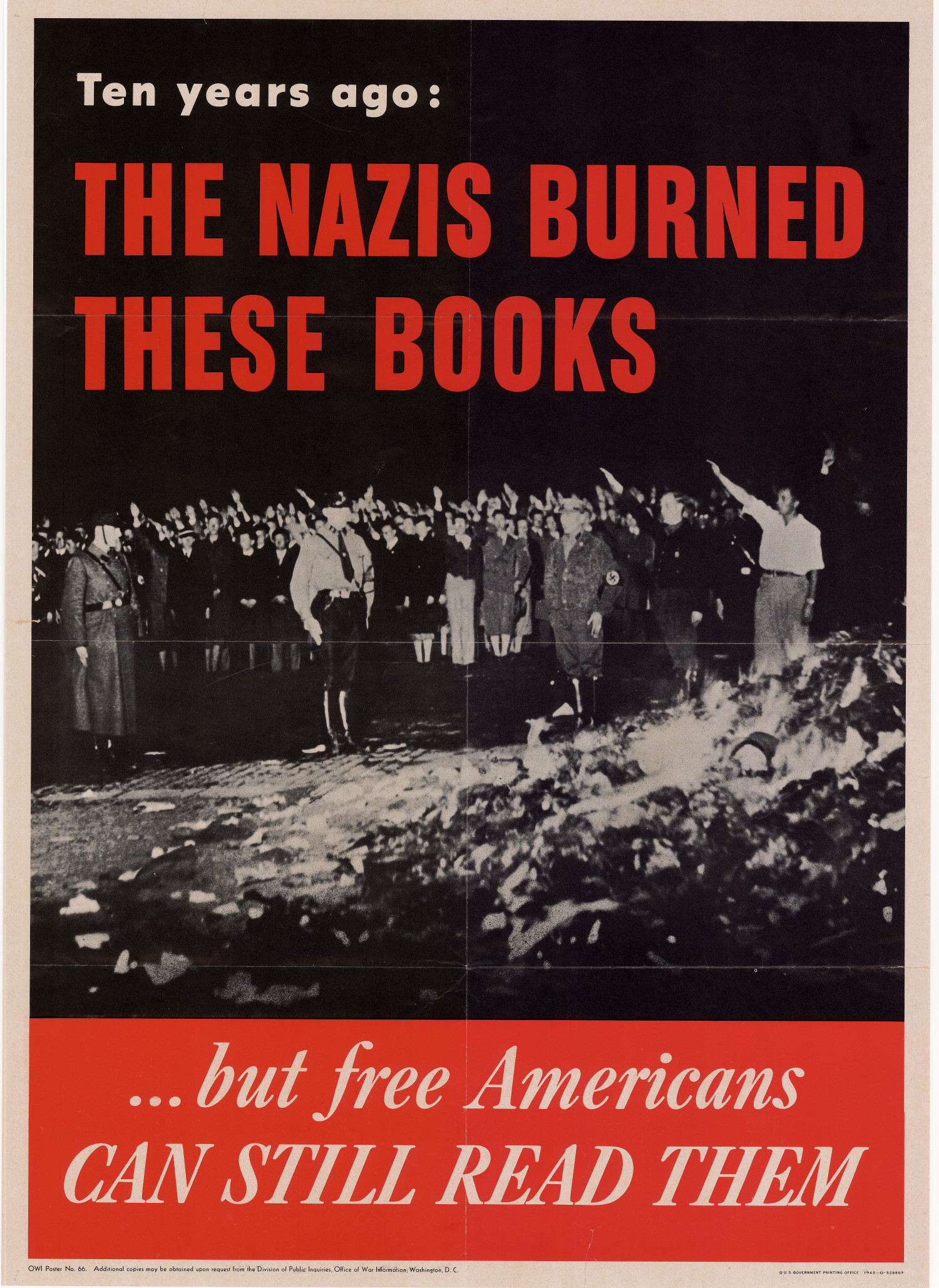 Ten Years Ago The Nazis Burned These Books