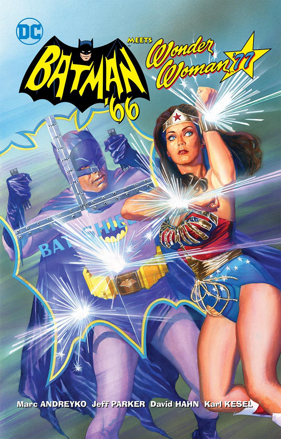 Batman '66 Meets Wonder Woman '77 - Graphic Novel Cover