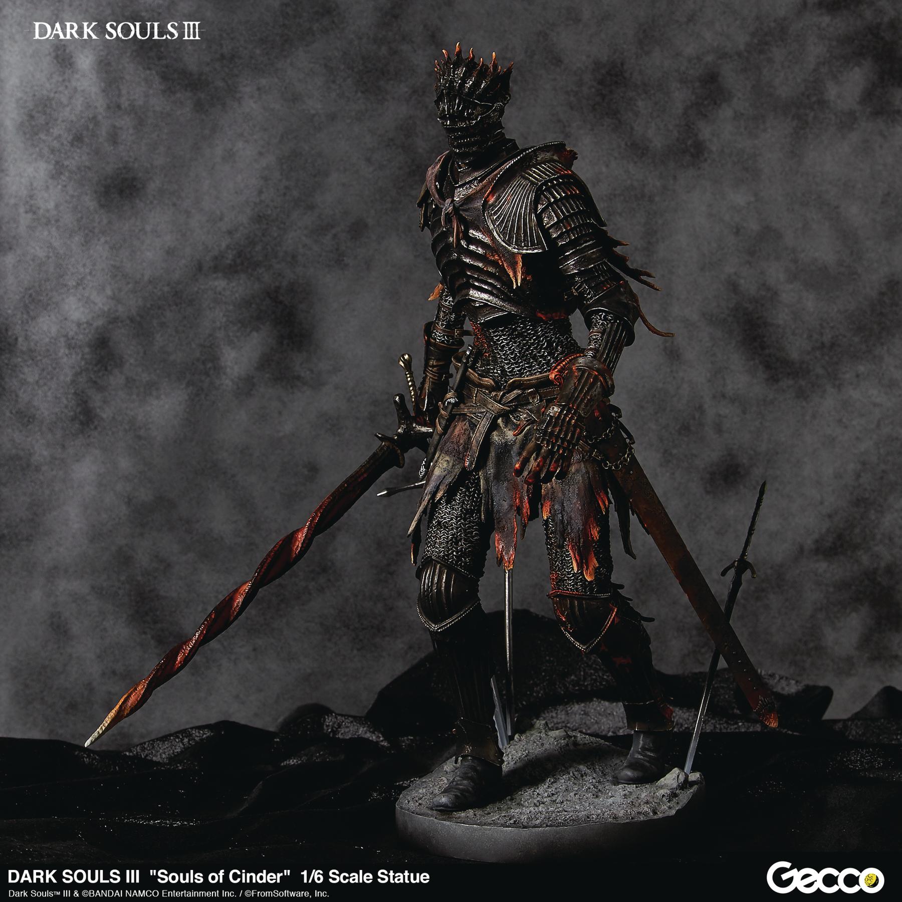 Dark Souls III - Souls of Cinder PVC Figure