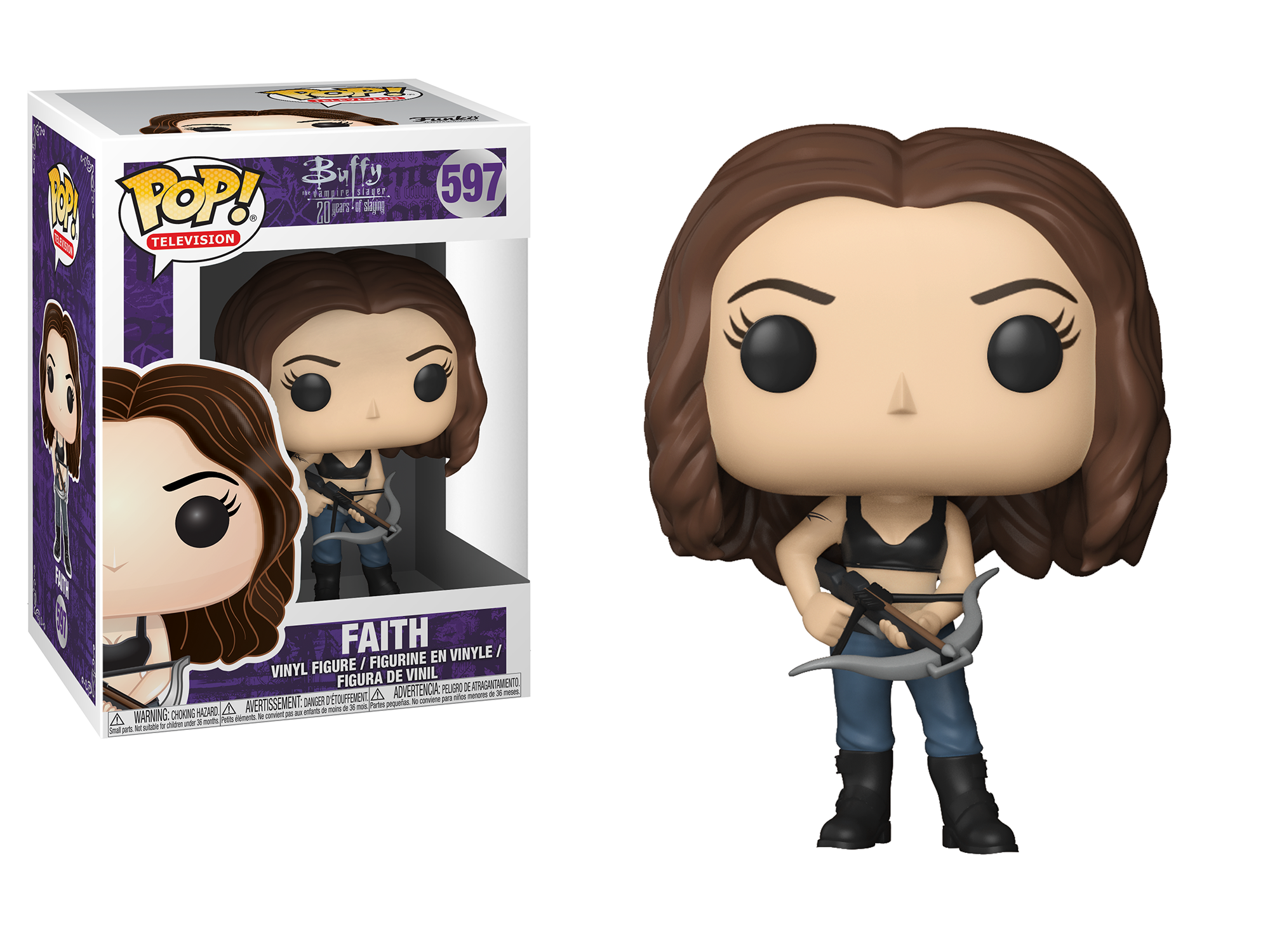 Funko Pop - Buffy The Vampire Slayer 25th Anniversary - Faith Lehane