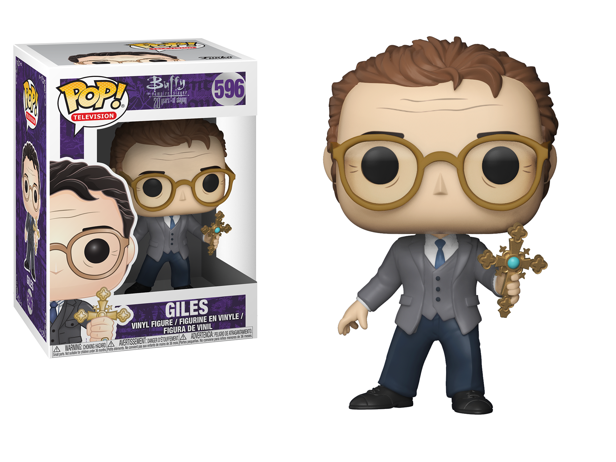 Funko Pop - Buffy The Vampire Slayer 25th Anniversary - Rupert Giles