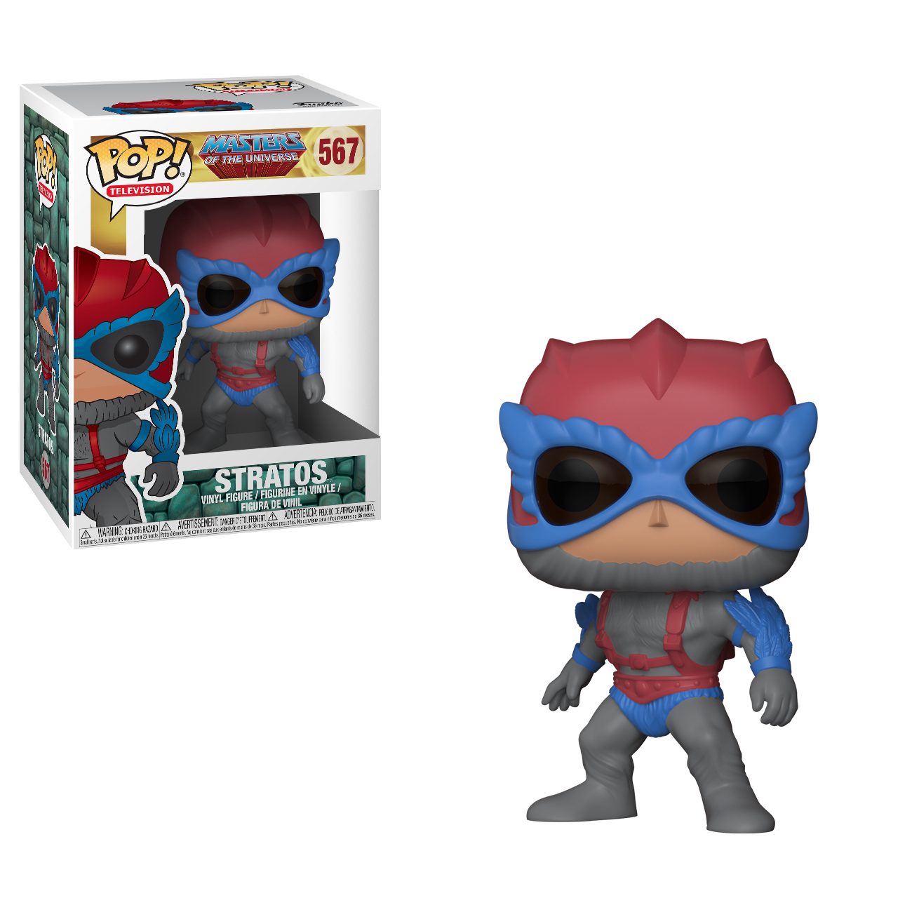 Funko Pop Masters Of The Universe Collection Brian