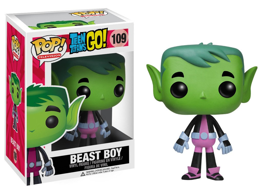 Funko Pop! Teen Titans Go - Beast Boy