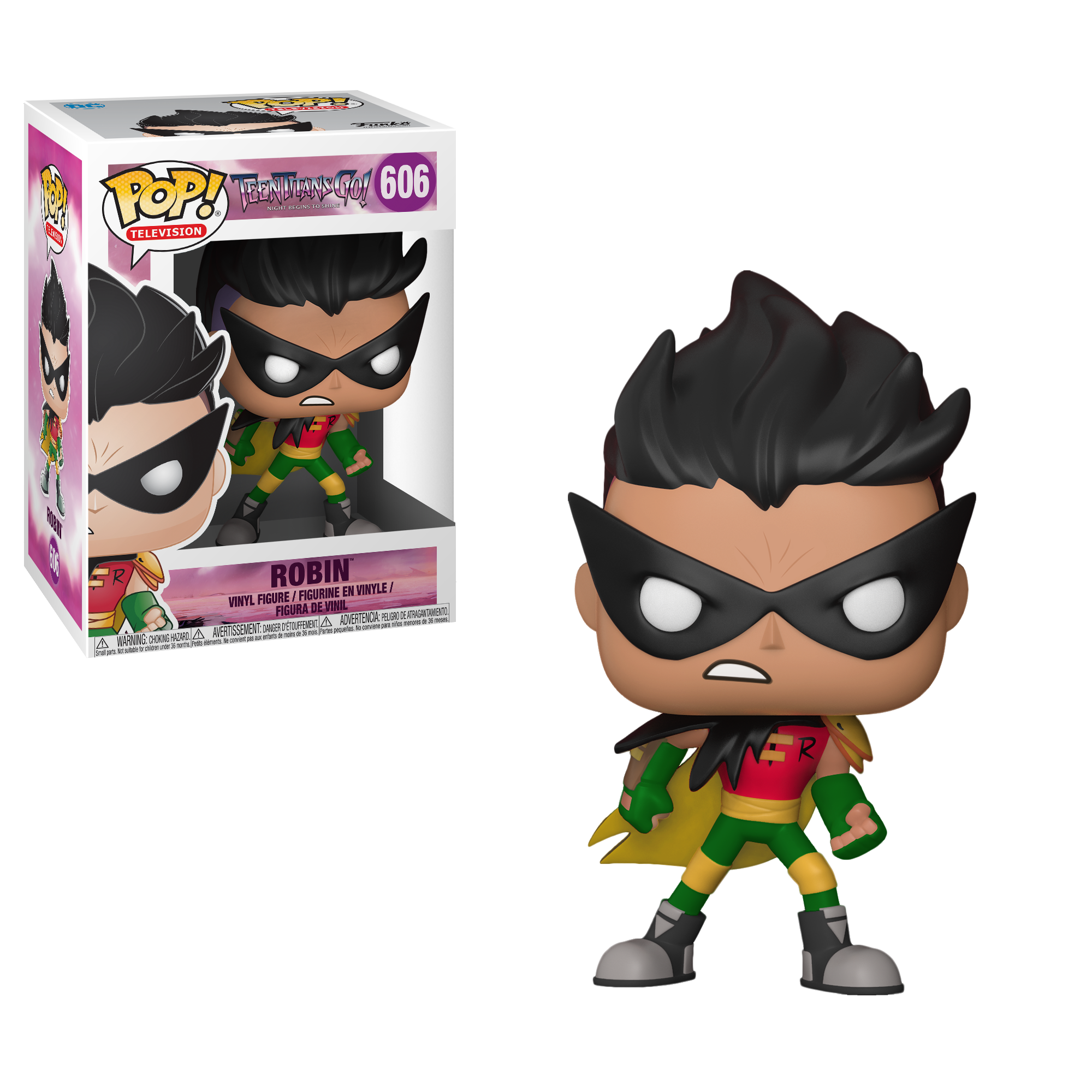 Funko Pop! Teen Titans Go - The Night Begins to Shine - Robin