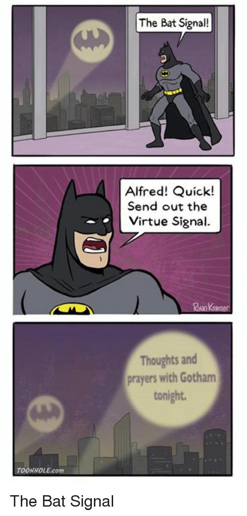 The Bat Virtue Signal