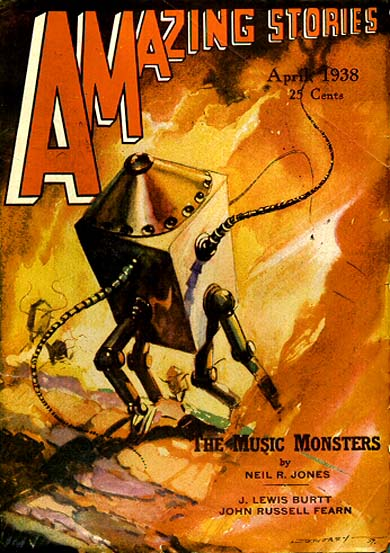 Cover - Amazing Stories, April 1938