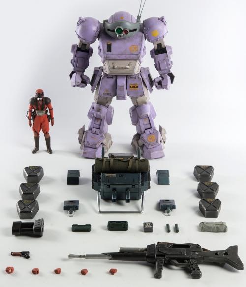 Armored Trooper Votoms - ATM-09-ST Scopedog Action Figure -