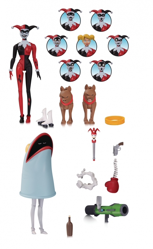 Batman: The Animated Series - Harley Quinn Expressions Pack