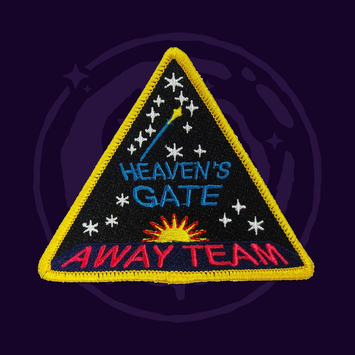 Heavens Gate Away Team Patch Replica Briancarnellcom