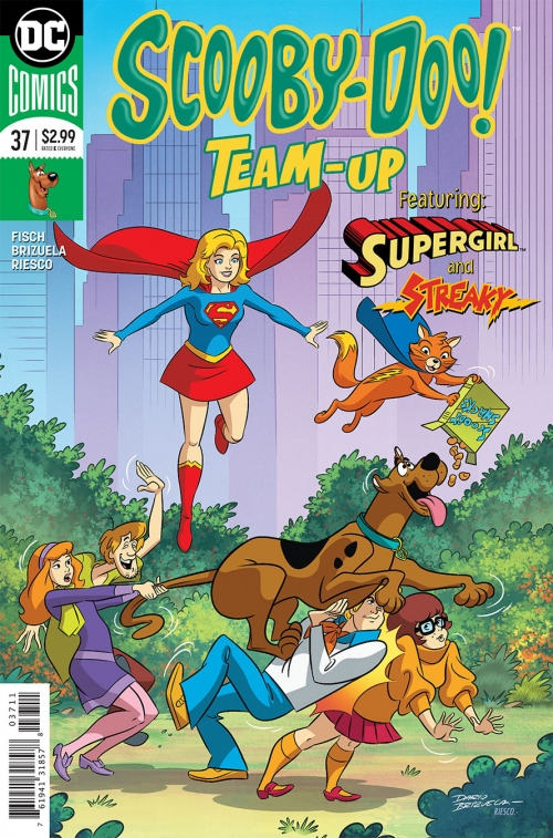 Scooby-Doo Team-Up Featuring Supergirl and Streaky