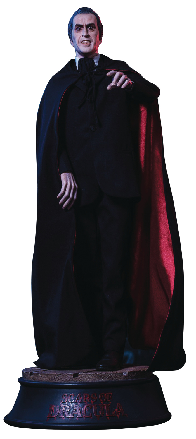 Star Ace Toys - Christopher Lee in Scars of Dracula 1/4 Scale Statue