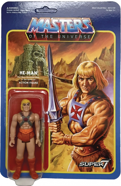 Super 7 Reaction Figures - Masters of the Universe - He-Man